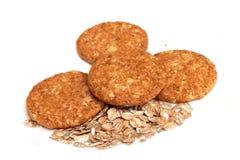 wholemeal печений стоковое изображение