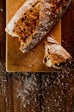 Хлеб Wholemeal стоковые изображения