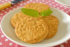Wholemeal Biscuits Stock Photos