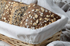 Wholemeal bread Royalty Free Stock Images