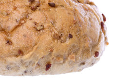 Wholemeal Bread Bun Isolated Royalty Free Stock Photos