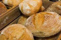 Wholemeal bread. Close up of fresh crunchy wholemeal bread Stock Image
