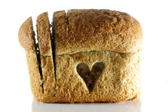 Wholemeal bread goodness Stock Photo
