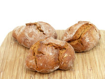 Wholemeal bread roll, Royalty Free Stock Photos
