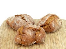 Wholemeal bread roll, Stock Photography
