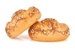 Wholemeal bread-rolls. Stock Images