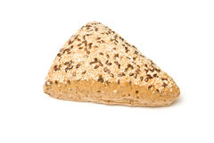 Wholemeal bread with sesame Royalty Free Stock Photos