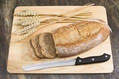 Wholemeal bread Royalty Free Stock Photos