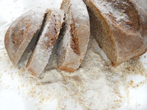 Wholemeal bread slices Royalty Free Stock Image