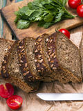Wholemeal bread with sunflower seeds Royalty Free Stock Photography