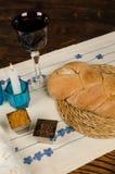 Wholemeal challah bread Royalty Free Stock Photos