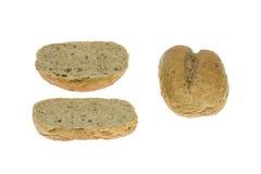 Wholemeal chlebowa rolka Fotografia Stock