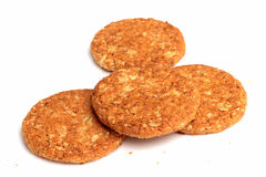 Wholemeal cookies Stock Images