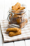 Wholemeal cookies Royalty Free Stock Photos
