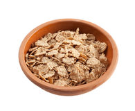 Wholemeal cornflakes Stock Images