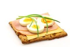 Wholemeal cracker Stock Image