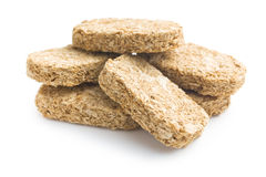 Wholemeal crackers Royalty Free Stock Photos