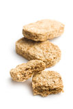 Wholemeal crackers Royalty Free Stock Image