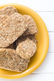 Wholemeal crackers Stock Image
