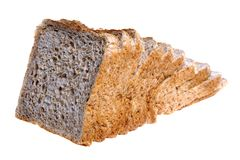 Wholemeal Loaf of Bread Royalty Free Stock Images