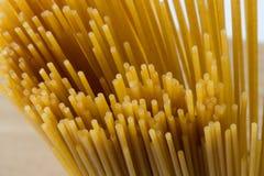 Wholemeal Pasta. Close up image of raw wholemeal spaghetti Royalty Free Stock Image