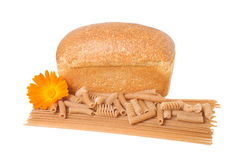 Wholemeal products Stock Photo