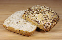 Wholemeal roll Royalty Free Stock Image