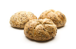 Wholemeal rolls Royalty Free Stock Image