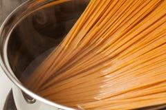 Wholemeal spaghetti Royalty Free Stock Photo
