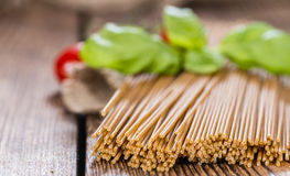 Wholemeal Spaghetti Royalty Free Stock Photos