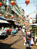 Wholesale market in thaialand Stock Photo