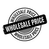 Wholesale Price rubber stamp. Grunge design with dust scratches. Effects can be easily removed for a clean, crisp look. Color is easily changed Royalty Free Stock Photo
