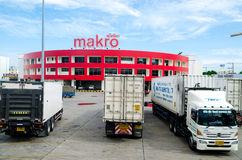 Wholesale : SIAM MAKRO PUBLIC COMPANY LIMITED. Siam Makro is large company to distribution of consumer products at wholesale prices, Thailand Stock Image