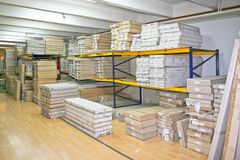 Wholesaler storage Royalty Free Stock Image