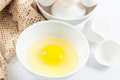 Wholesome Fresh Eggs Royalty Free Stock Image
