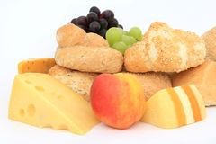Wholesome healthy breakfast food Royalty Free Stock Images