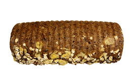 Wholesome rye bread with nuts Stock Photography