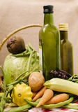 Wholesome vegetables from the garden Royalty Free Stock Photography