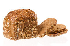 Wholewheat com flocos da aveia Fotos de Stock Royalty Free