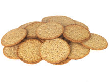 Wholewheat Crackers Stock Photo