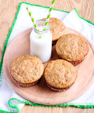 Wholewheat muffins Royalty Free Stock Image