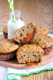 Wholewheat muffins Royalty Free Stock Photography