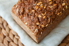 Wholewheat, wholemeal bread Stock Photos