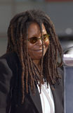Whoopi Goldberg. Actress WHOOPI GOLDBERG on Hollywood Blvd where she was honored with the 2,186th star on the Hollywood Walk of Fame. Today is also her 46th Stock Images