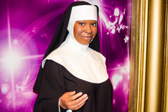 Whoopi Goldberg as a nun Royalty Free Stock Photo