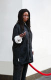 Whoopi Goldberg in Was Royalty-vrije Stock Afbeeldingen