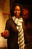Whoopi Goldberg Wax Figure Stock Photos