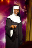 Whoopi Goldberg. Wax statue at Madame Tussauds in London stock photos