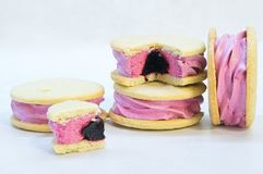 Whoopie cookie Stock Photo