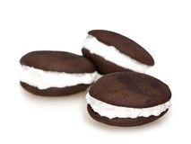Whoopie pie chocolate sandwich Royalty Free Stock Photography